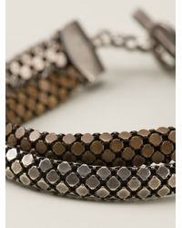 Laura B | Gray Bandas Bracelet | Lyst