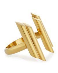 Maiyet - Metallic Empire Gold-plated Bangle - Lyst