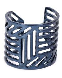 Pierre Hardy | Blue Grid Ring | Lyst