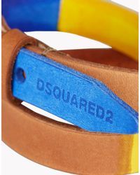 DSquared² - Blue Saturated Color Armlet for Men - Lyst
