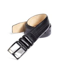 Mezlan | Black 'perseo' Belt for Men | Lyst