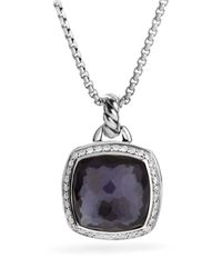David Yurman | Purple Albion Pendant With Lavender Amethyst And Diamonds | Lyst