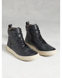John Varvatos | Gray Bedford High Top for Men | Lyst