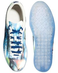 PUMA | Blue Chalayan Conflate Printed Trainers for Men | Lyst