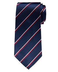 Banana Republic | Purple Double-stripe Silk Tie for Men | Lyst