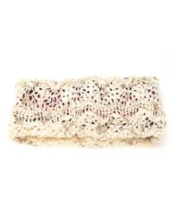 CA4LA | White Knit Hairband | Lyst