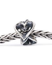 Trollbeads   Metallic Hearts Galore Bead   Lyst
