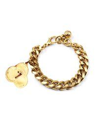 Lulu Frost | Metallic Victorian Plaza Number Bracelet | Lyst