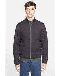Norse Projects - Gray 'ryan' Wool Bomber Jacket for Men - Lyst