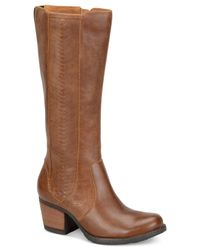 Born | Brown May Tall Boots | Lyst