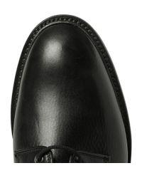 Richard James - Black Full-Grain Leather Derby Shoes for Men - Lyst