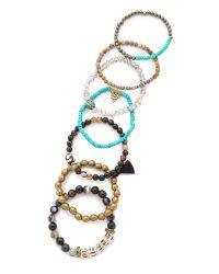 Lacey Ryan - Metallic Embrace Bracelet Set - Lyst