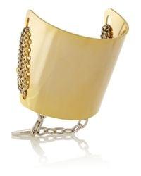 Gemma Redux | Metallic Gold-plated Bracelet | Lyst