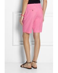 J.Crew | Pink Collection Eaton Stretch-Wool Shorts | Lyst