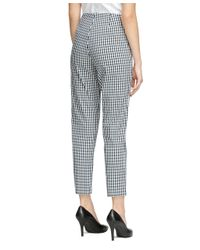 Brooks Brothers | Black Natalie Fit Gingham Pants | Lyst