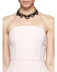 Ela Stone | Multicolor Daisy Multi-chain Necklace | Lyst