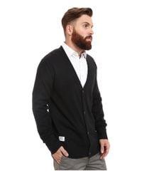 Wesc | Black Borik Knitted Sweater Cardigan for Men | Lyst