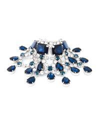 DSquared² | Blue Embellished Bracelet | Lyst