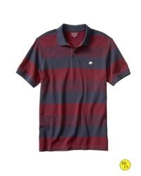 Banana Republic | Purple Factory Birdseye Polo for Men | Lyst