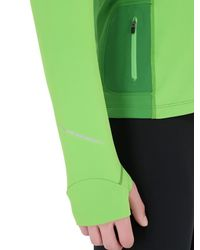 Arc'teryx - Green Cyclic Zip-up Running Top - Lyst