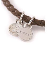 DIESEL   Gray 'altyse' Bracelet for Men   Lyst