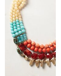 Anthropologie   Multicolor Cassie Layer Necklace   Lyst