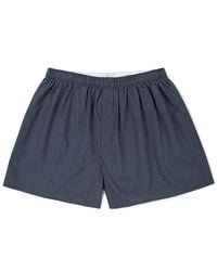 Sunspel | Blue Men's Long-staple Cotton Seasonal Boxer Short for Men | Lyst