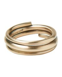 Toast | Metallic The Circulation Wrapped Ring | Lyst