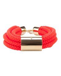 Sabrina Dehoff | Red Cord Bracelet | Lyst