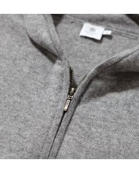 Sunspel - Gray Men's Cashmere Hoody for Men - Lyst