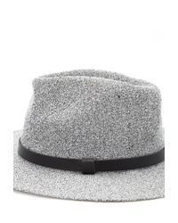 Forever 21 - Gray Textured Fedora - Lyst