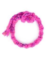 The Elder Statesman | Pink Double Wrap Bracelet for Men | Lyst