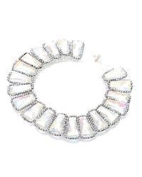Nakamol | Multicolor Louella Crystal Necklace-Clear | Lyst