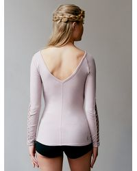 Free People - Pink Rama Layering Top - Lyst
