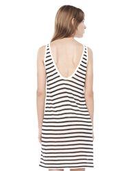 Alexander Wang - Multicolor Stripe Linen Tank Dress - Lyst