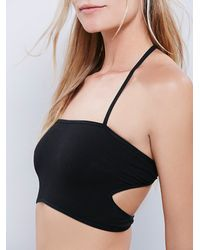 Free People - Black Barely There Brami - Lyst