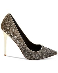 Madden Girl | Black Ohnice Pointed Toe Evening Pumps | Lyst