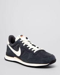 Nike - Gray Internationalist Pgs Ltr Sneakers - Lyst
