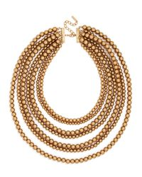BaubleBar | Metallic Bold Beaded Strands | Lyst