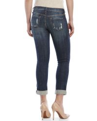 Eunina - Blue Relaxed Skinny Jeans - Lyst