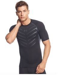 Under Armour | Black Exo Heatgear Compression T-shirt for Men | Lyst