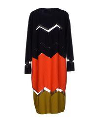Maison Rabih Kayrouz - Blue Knee-length Dress - Lyst