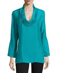 Natori - Green Daray Tunic Top - Lyst