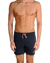 Pedro Del Hierro Madrid - Blue Swimming Trunk for Men - Lyst