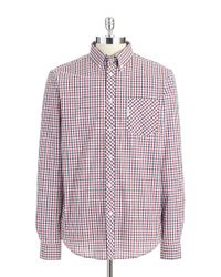 Ben Sherman | Blue Checkered Sportshirt for Men | Lyst