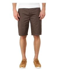 Billabong | Brown Carter Chino Short for Men | Lyst