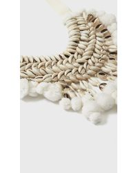 Figue - White Malo Necklace - Lyst