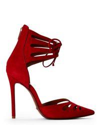 Schutz - Red Nadley Heels - Lyst