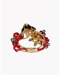 DSquared² - Red Cina Chow Armlet - Lyst
