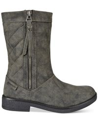 Rocket Dog | Black Tipton Quilted Mid-shaft Boots | Lyst